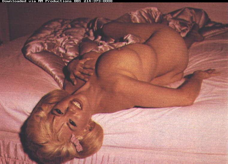Jayne Mansfield Nude Naked Picture Pic Shoot
