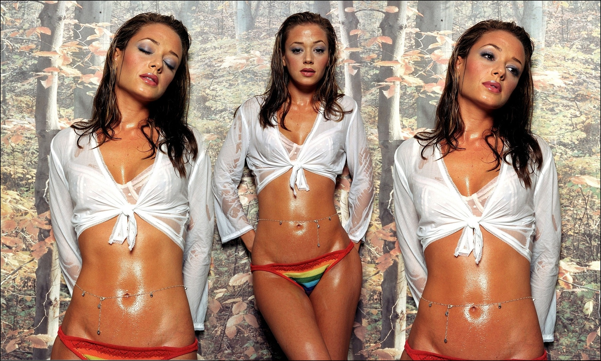 nude picture of leah remini
