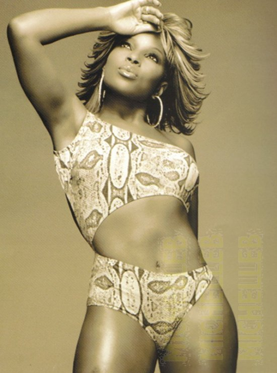 Mary j blige nude bikini that